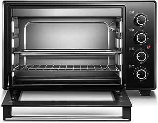 L.TSA Horno eléctrico de Gran Capacidad Kitchen 35L, Horno Compacto Multifuncional para el hogar, Control de Temperatura del Temporizador de 120 Minutos, 6 Tipos de horneado Funcional, Pastel, Pan