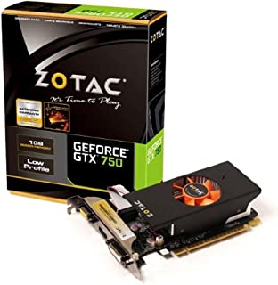 ZOTAC GeForce GTX 750 LP 2slot version グラフィックスボード 日本正規代理店品 VD5345 ZTGTX750LP-1GD5R03/ZT-70702-10M