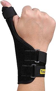 Yosoo Thumb Splint Adjustable Neoprene Hand Thumb Brace Stabilizer Guard Spica Support for Arthritis,Tendonitis,Broken Hyp...