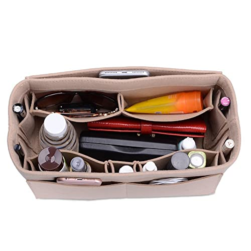 3e483727d2 Felt Purse Organizer, Bag in Bag Organizer For Tote & Handbag, Speedy,  Neverfull