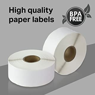 72 Rolls of 355 1.125x3.5 Compatible Address Shipping Labels 30252 for LabelWriters 330 400 450 Twin Turbo Duo 4XL Printer