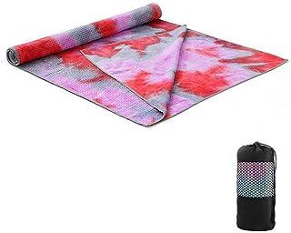 Yoga mat Non Slip Exercise| 183 * 63cm Yoga Towel Non-slip Portable Travel Yoga Mat Towel Anti Skid Microfiber Gym Pilates...