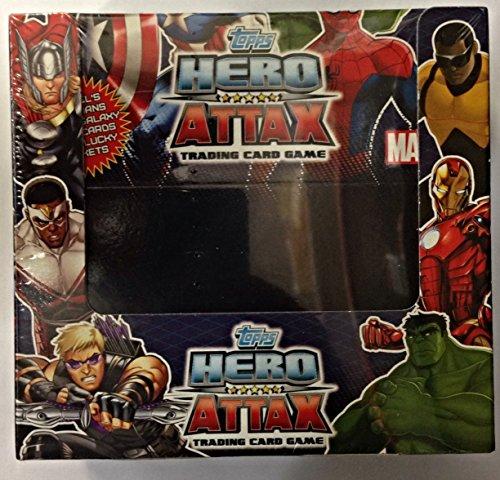 Topps TO20100 - Hero Attax Sammelkarten, 50 Booster mit je 5 Karten im Display