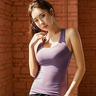 Mujer Camisetas sin Mangas,Mujeres Corriendo Sujetador Deportivo Yoga Entrenamiento Chaleco Tops Shapewear