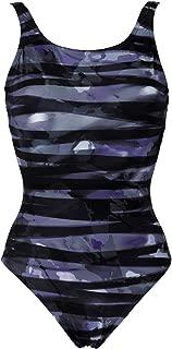BODYLIFT Women's Bodylift U Back Shirley Tummy Flattening 1 Piece Swimsuit