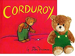 Corduroy Book and Bear Gift Set
