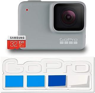 【国内正規品】GoPro HERO7 White + 認定SDカード + 非売品ステッカー セット CHDHB-601-FW 【GoPro公式限定】