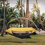 XHJZ-W Pop-Up Camping Hamaca con Mosquitera portátil al Aire Libre oscilación paracaídas hamacas Dormir acampa de la Hamaca Materia