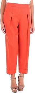 GIORGIO ARMANI Luxury Fashion Womens ZAP19TZA150247 Red Pants | Season Outlet