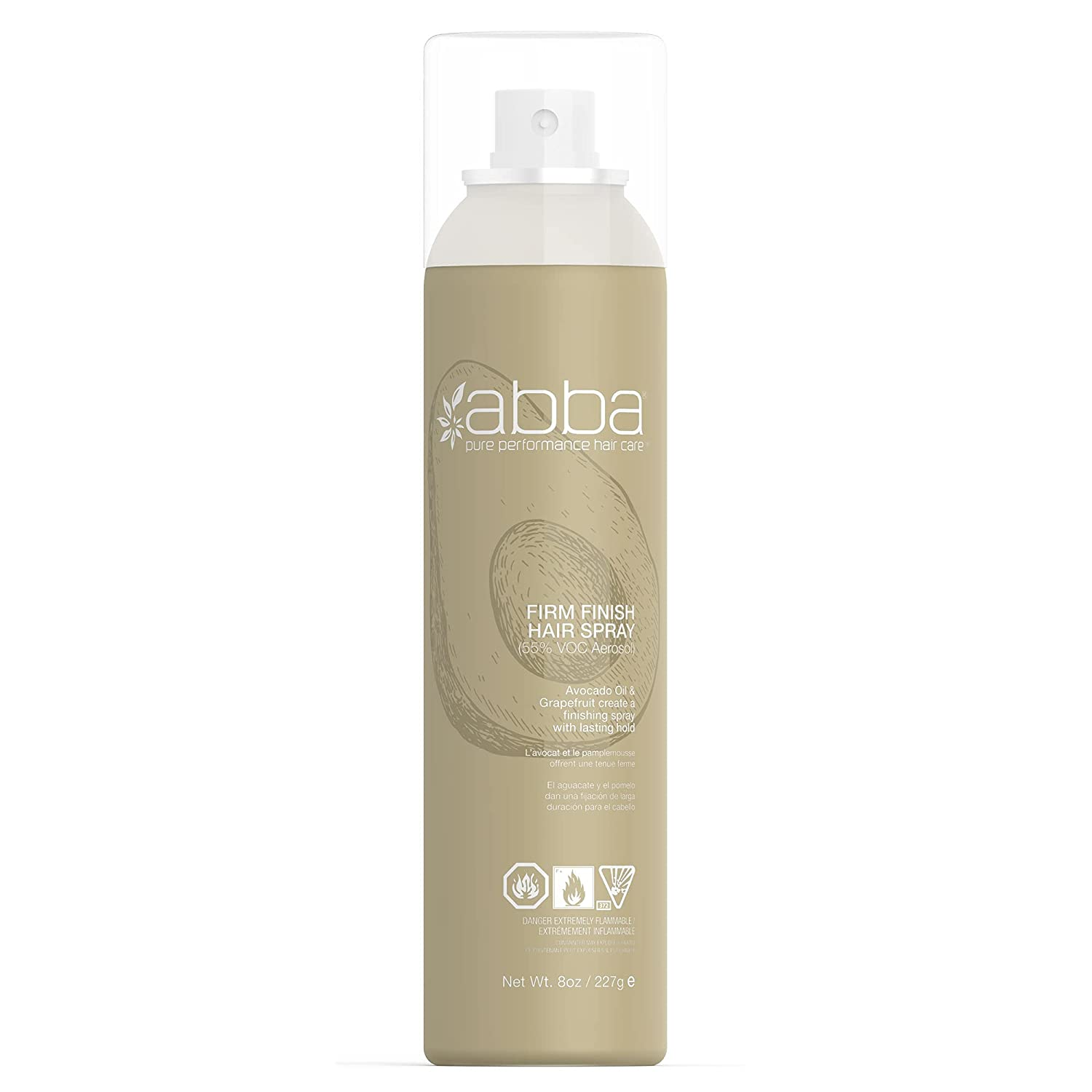 Limited time sale ABBA Firm Finish Hair Spray Super intense SALE oz 10