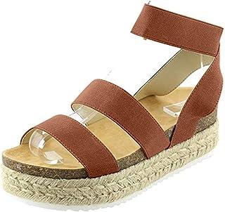 Para Zapatos Amazon 42 Cuña esAlpargatas Mujer CordBxe
