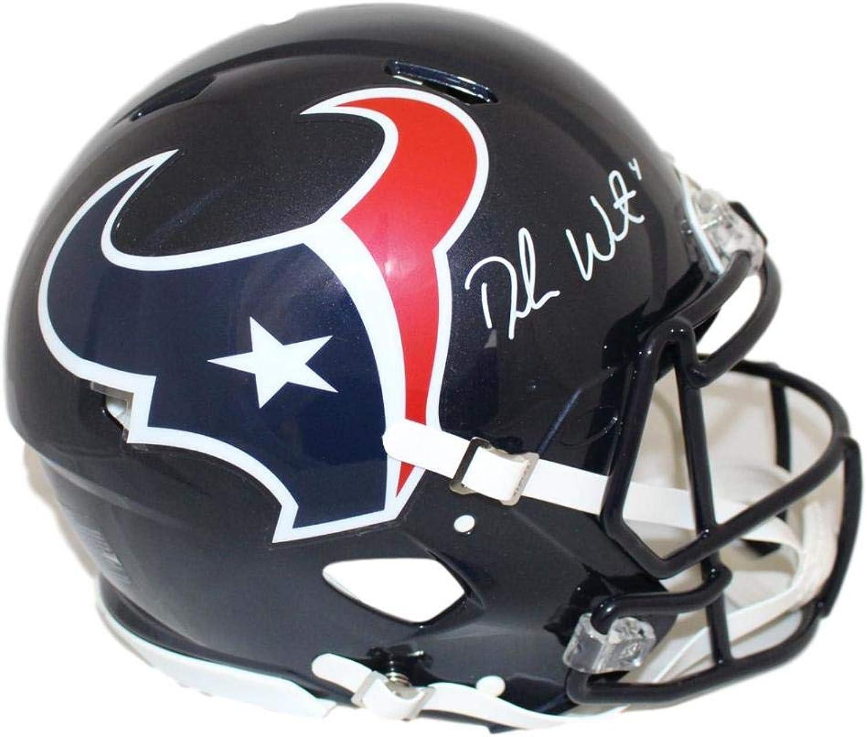Deshaun Watson Autographed Houston Texans Speed Proline Helmet JSA