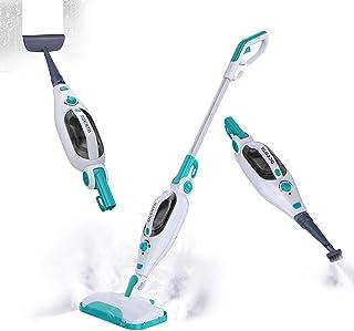 پاک کننده بخار پاک کن Dcenta ، تمیزکننده بخار دستی 12 در 1 قابل جدا شدن برای چوب های سخت ، کاشی ، فرش با ابزار چند منظوره ، بخار دستی 1500 وات برای خانه ، آشپزخانه ، پوشاک