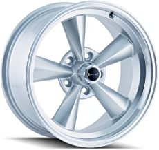 Ridler 675 Silver Wheel with Machined Lip (15x7