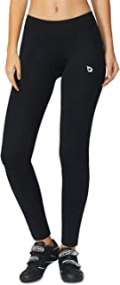 BALEAF Women's 3D Padded Cycling Tights Bike Compression Leggings with Wide Waistband