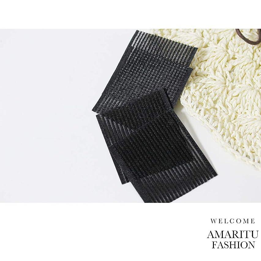 ポーズマチュピチュ【AMARUTU?FASHION】前髪とめーるシート 2枚入りx5セット 長方形型 前髪固定シート (ALLブラック)