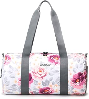 Vooray Iconic Womens Duffel Bag for Gym and Travel, Unisex-Adult (Luggage only), Peony, One_Size