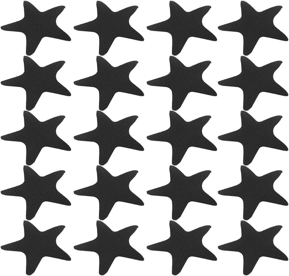 UKCOCO 40PCS Seasonal Wrap Introduction Non- Slip Bathtub Stickers De Max 72% OFF Adhesive Star
