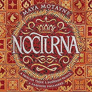 Nocturna audiobook cover art