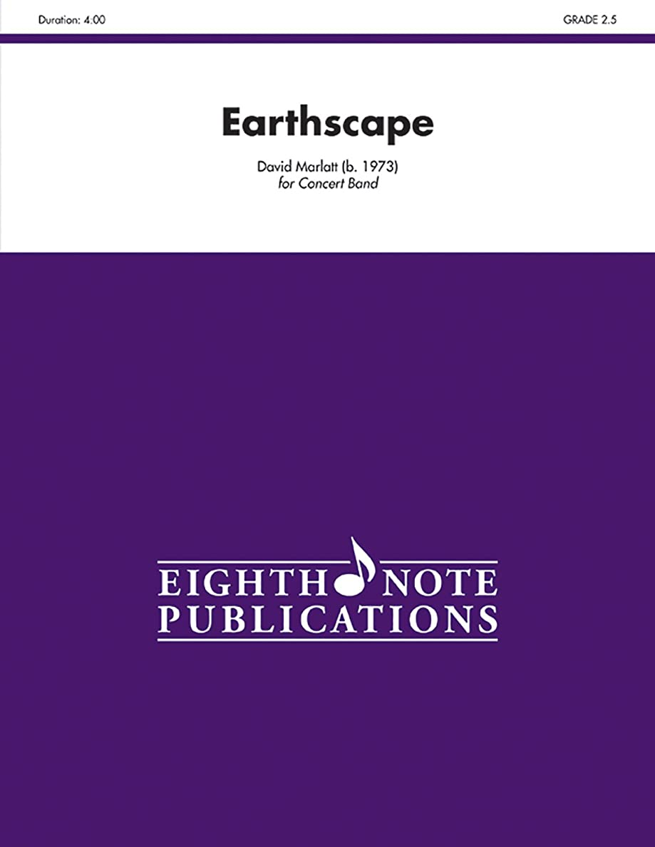 手数料シェーバーバトルEarthscape: Conductor Score & Parts (Eighth Note Publications)