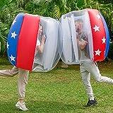 Bumper Balls 2 Pack, Inflatable Bumper Ball...