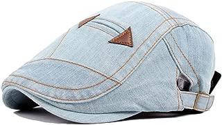 Bin Zhang Retro Beret Cap Spring Autumn Wool Ladies Fashion Men Washed Denim Cap Pocket