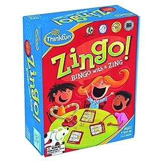 اسعار ThinkFun Zingo Bingo Award Winning Preschool Game for Pre-Readers and Early Readers Age 4 and Up - One of the Most Popular Board Games for Boys and Girls and their Parents, Amazon Exclusive Version