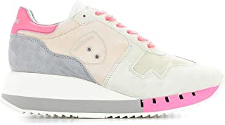 BLAUER Women's BW02FUXIA Multicolor Leather Sneakers