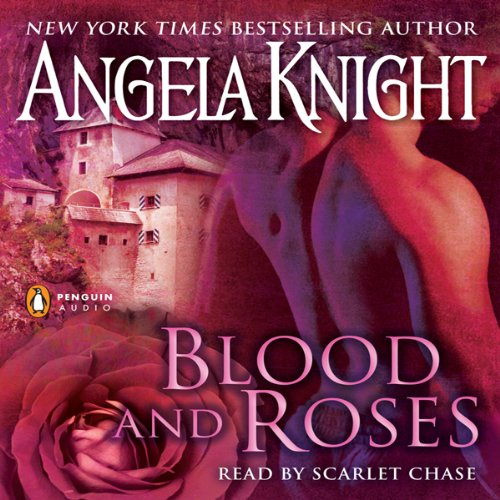 Blood and Roses audiobook cover art
