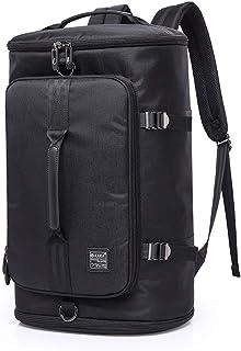 Zaino Travel Bag Man Portatile Zaino del Computer Multi-Funzione di Grande capienza di Spalla delle (Color : Black, Size :...