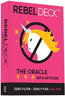 REBEL DECK - The Oracle with Attitude - Oracle Deck (60 Cards)