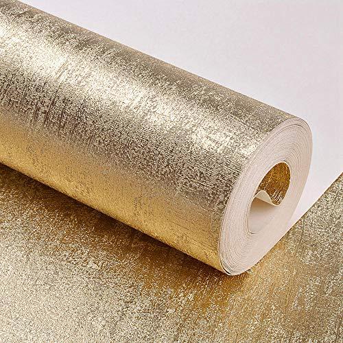 Geluidsisolatie geluidsabsorberend behang goudfolie zilver ktv Hotel behang slaapkamer woonkamer plafond behang geel