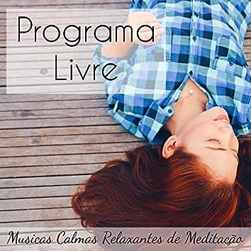 Programa Livre - Musicas Calmas Relaxantes de Meditação para Ninar Relax Solução de Problemas Chakras do Corpo com Sons da Natureza Instrumentais New Age
