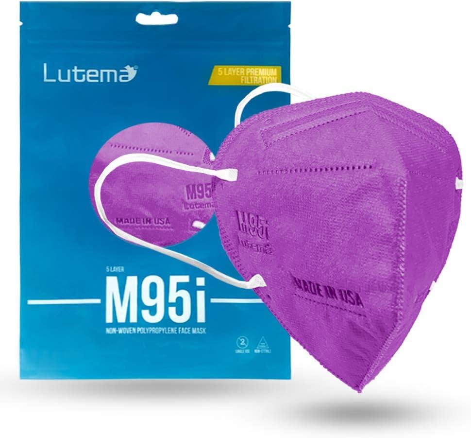 M95i Premium Filtration 5-Layer 特別セール品 Face 2020モデル Desig Disposable Mask 5-ply