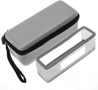 For bose-soundlink Mini I IIスピーカーケースポータブルBluetoothスピーカーストレージキャリートラベルケースシリコンソフトカバー保護