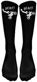 Yuanmeiju Got Dirt Bike Motorcross Racing Classics Knee High Sock Graphic Sport Long Sock For Man And Woman (Long 50cm