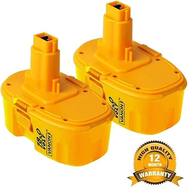 18V 4 0Ah Replace Battery For Dewalt DC9096 388683 12 651034 01 DE9039 DE9095 DE9096 DE9098 DW9096 DW9095 DW9098 2 Pack