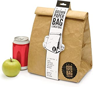 Luckies of London Insulated Box – Lunch Bag for Men, Brown