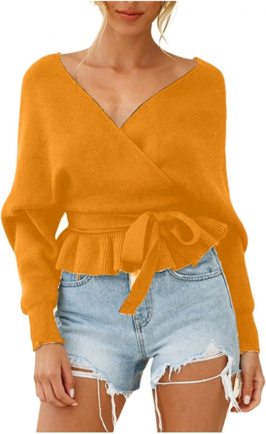 Blouse Shirt for depot Woman Women Knit Long Pullover Sleeve New product type Waffle Tu