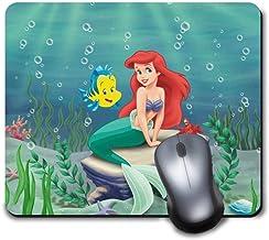 Memory Shop Alfombrilla de ratón Disney Ariel Sirenita Alfombrilla de Goma Antideslizante Alfombrilla Linda Divertida para Juegos y Regalos