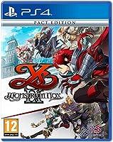 Ys Ix: Monstrum Nox Pact Edition (PS4) (輸入版)
