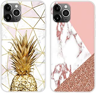 Yoedge 2pcs Phone Case for OPPO A53(2020)4G/A32 6.5 inch, Soft TPU Shockproof Silicone Cute Phone Case, Cool Kawaii Anti S...