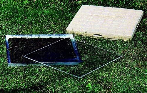 Schwegler Naturschutzprodukt Ameisen-Beobachtungsstein Ameisen Nisthilfe Insektenhotel aus Holz-Sandsteinbeton Höhe 5 cm
