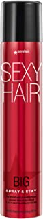 SexyHair Big Spray & Stay Intense Hold Hairspray | Extreme Hold and Shine | Up to 72 Hour Humidity Resistance | All Hair T...