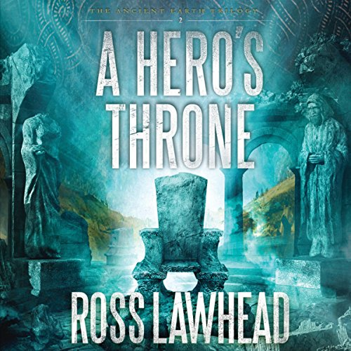 A Hero's Throne audiobook cover art