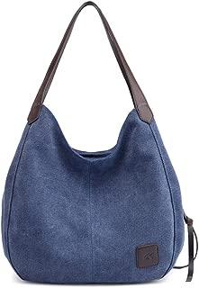 MIFXIN Womens Cat Canvas Shoulder Bag Canvas Purse Tote Shoulder Bag Travel Beach Handbag Lady Retro Handbags Casual Tote Bag for Women Girls