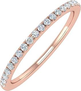 Amazon Com Rose Gold Wedding Bands Wedding Engagement Clothing Shoes Jewelry