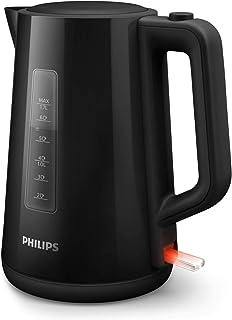 Philips HD9318/20 Bouilloire Plastique Noire 1,7 L, 2 200 W