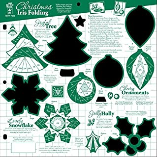 Hot Off The Press - Christmas Iris Folding Template