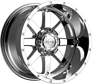 Gear Alloy Big Block 20 Chrome Wheel / Rim 8x170 with a -44mm Offset and a 130.18 Hub Bore. Partnumber 726C-2128744